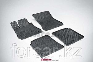 Коврики резиновые (сетка) Seintex в салон MERCEDES-BENZ S-Class W221  2005 - 2013
