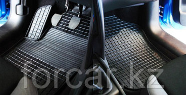 Коврики резиновые (сетка) Seintex в салон MERCEDES-BENZ S-Class W221  2005 - 2013, фото 2