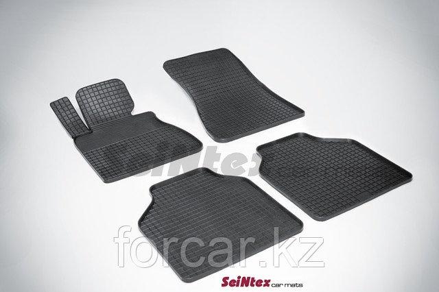 Коврики резиновые (сетка) Seintex в салон BMW X-5 E-70  2007 -