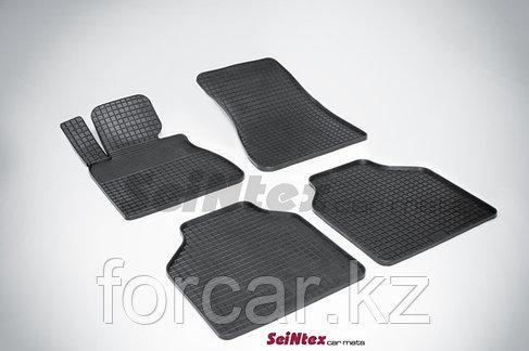 Коврики резиновые (сетка) Seintex в салон BMW X-5 E-70  2007 -, фото 2
