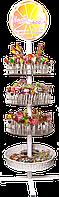 Стойка для леденцов напольная (диаметр 40 см)