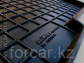 Коврики резиновые (сетка) Seintex в салон NISSAN X-Trail T30 2001-2007, фото 2