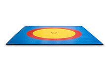 Покрышка для борцовский ковера трехцветный 12х12м, фото 3