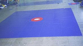 Изготовление покрытия борцовского ковра ПВХ (Корея), фото 2