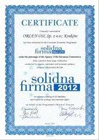 ORLEN OIL – «Солидная фирма – 2012»