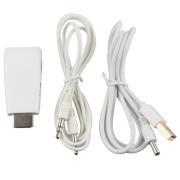 Конвертер/преобразователь/ HDMI в VGA cо звуком, переходник со звуком HDMI to VGA + 3.5 jack