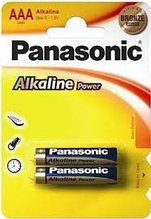 Panasonic LR03APB/2BP батарейка Alkaline Power тип ААА