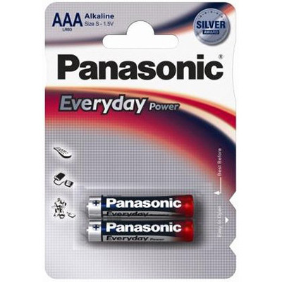 Panasonic LR03EPS/2BP Every Day Power тип AAA