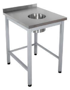 Стол для сбора отходов  1500*600*850