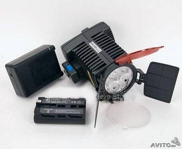 Свет накамерный + зарядное устройство + аккумулятор  4LED PROFESSIONAL 5005