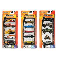 Подарочный набор автомобилей (5 шт.) (в ассортименте) MatchBox