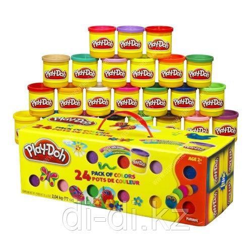 Набор пластилина из 24 банок PLAY DOH - фото 1