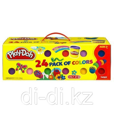 Набор пластилина из 24 банок PLAY DOH - фото 3