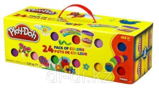 Набор пластилина из 24 банок PLAY DOH - фото 4