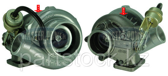 Турбокомпрессор (турбина), с установ. к-том на / для CASE / CUMMINS / KOMATSU , MASTER  POWER 808252