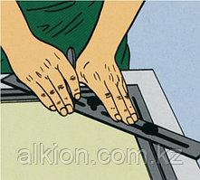 Шаблон для  обрезания углов, с регулируемым размером