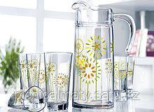 Luminarc Набор для напитков Delta Cotton Flower 7 пр
