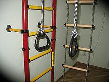 Кольца гимнастические у металлических ДСК