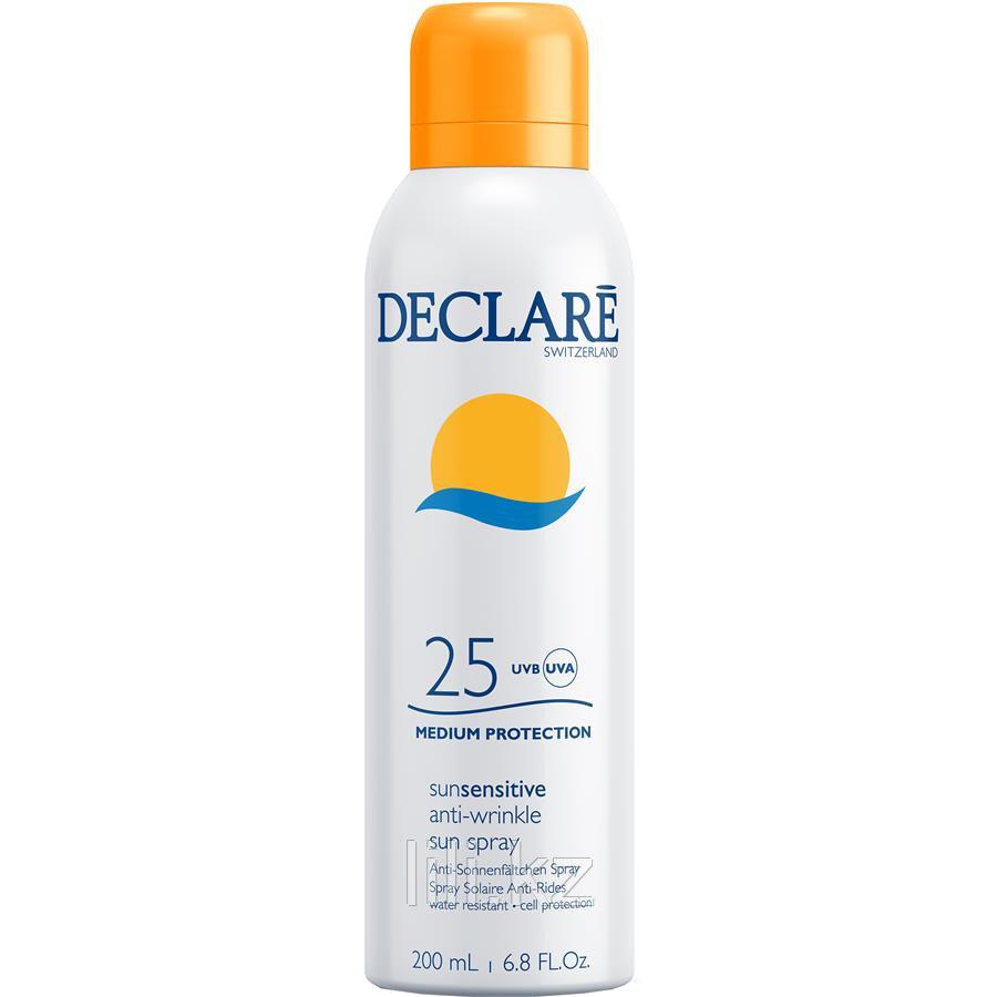 Солнцезащитный спрей с SPF 25 Declare Sun Sensitive Anti-Wrinkle Sun Spray SPF 25, 200 мл.