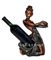 Подставка под бутылки в виде статуи, статуэтка подставка для вина, подставка для вина