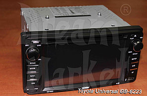 Автомагнитола Toyota Universal GB-6223, 42000 тг., GPS, DVD, камера в подарок