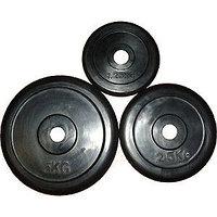 Блины, диски металл. обрезиненные d=25мм