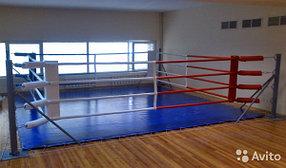 Боксерский ринг на растяжках 6x6