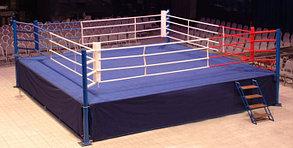 """Ринг """"Олимпийский KANVAS"""" на помосте 8,1 х 8 х1 м по канатам 6,1 х 6,1 м ВЕРСИЯ AIBA, фото 2"""