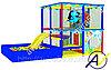 Детский игровой лабиринт Подводный мир