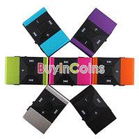 Мини MP3 плеер с клипсой и наушниками Clip MP3