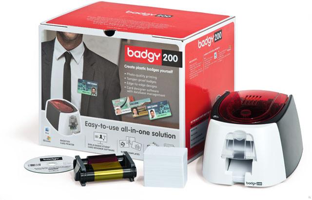 Evolis B22U0000RS Badgy 200