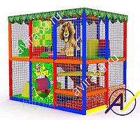 Детский игровой лабиринт. Мадагаскар, фото 1