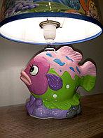"""Керамический детский светильник """"Рыбка"""" , фото 1"""