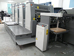 Komori Spica 429 без переворота by 2005 г. - четырехкрасочная офсетная печатная машина