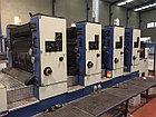 KBA Rapida 104-4 - офсетная 4-х красочная печатная машина 104x72 (B1), бу - 1992 г., фото 3