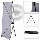 Х баннер - Паук, 1,8х0,8, X-banner - мобильный выставочный стенд, фото 2