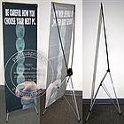 Х баннер - Паук, 1,8х0,8, X-banner - мобильный выставочный стенд, фото 3