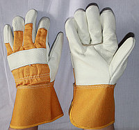 Перчатки кожаные рабочие длинный,Перчатки рабочие, Большой выбор рабочих перчаток всех видов