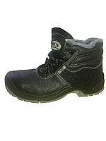 Ботинки зимние из натуральной кожи № 8018
