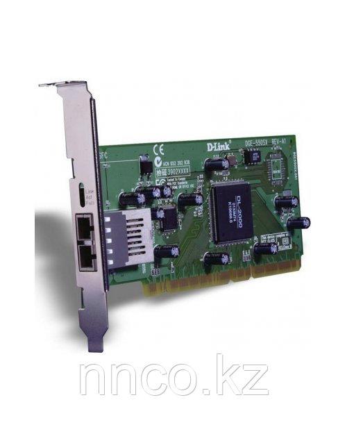 D-Link DGE-550SX Сетевой адаптер PCI 10/100/1000 оптический