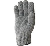 Перчатки трикотажные серые