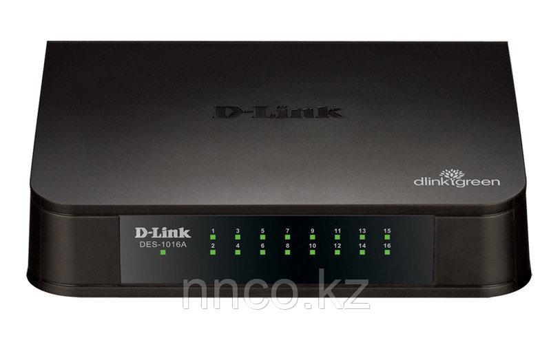 D-Link DES-1016A/E1B 16-порт 10/100 неупр-й коммутатор