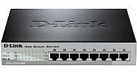D-Link DES-1210-08P/B1A (C1A)Настраиваемый комм 8 порта, фото 1