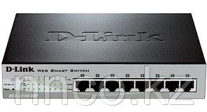D-Link DES-1210-08P/B1A (C1A)Настраиваемый комм 8 порта