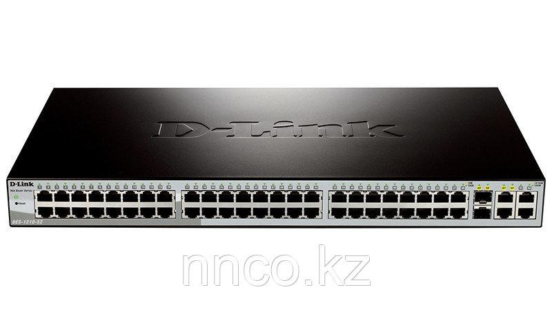 D-Link DES-1210-52/C1A Настраиваемый комм 48 порта