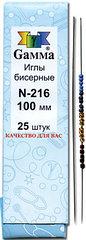 Иглы бисерные №100 по штучно