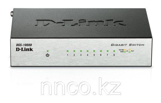 Неуправляемый коммутатор D-Link DGS-1008D/I2B