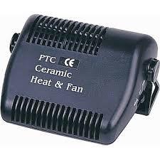 Тепловентилятор автомобильный керамический
