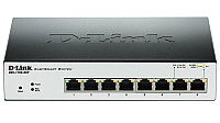 Настраиваемый компактный коммутатор EasySmart с 8 портами 10/100/1000Base-T с поддержкой PoE