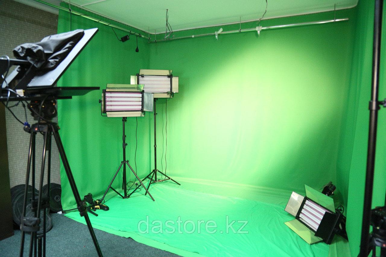 DaStore Products Аренда съёмочного павильона на основе хромакея (зеленой ткани)